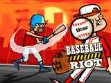 Baseball Riot iPad Title Screen