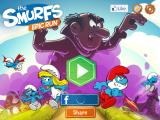 The Smurfs: Epic Run iPad Title screen