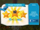 The Smurfs: Epic Run iPad Stage complete