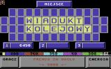Koło Fortuny Commodore 64 Password bonus