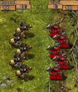 High Seize N-Gage Pitting two types of cavalry against each other.