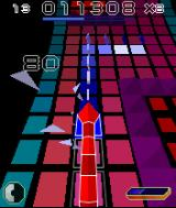 Snakes N-Gage IF you eat all the blue blocks in the strings - you'll get a higher score multiplier.