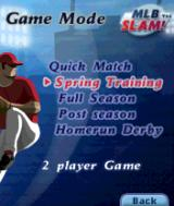 MLB Slam! N-Gage Different game modes to choose from.