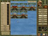 Cutthroats: Terror on the High Seas Windows The fleet management screen