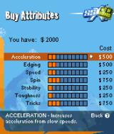 SSX: Out of Bounds N-Gage To upgrade your rider, hard earned cash has to be spent.