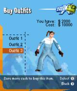 SSX: Out of Bounds N-Gage You can always change your attire for, yes, $10000 precisely.