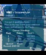 SSX: Out of Bounds N-Gage Race results.