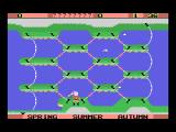 Shark Hunter MSX Beginning of game