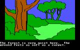 Winnie the Pooh in the Hundred Acre Wood DOS The One Hundred Acre Wood PCjr/Tandy Graphics