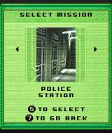 Tom Clancy's Splinter Cell N-Gage List of available missions.