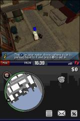Grand Theft Auto: Chinatown Wars Nintendo DS Stealing the car.