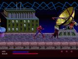 The Amazing Spider-Man: Web of Fire SEGA 32X fighting criminals