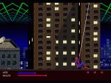 The Amazing Spider-Man: Web of Fire SEGA 32X And this web is attached to what?