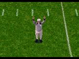 NFL Football '94 starring Joe Montana Genesis Official in action.