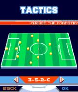 Marcel Desailly Pro Soccer N-Gage Choose a formation that will be used during the next game.