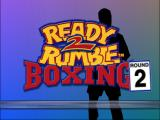 Ready 2 Rumble Boxing: Round 2 Nintendo 64 Opening Screen