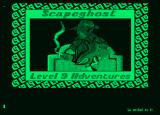 Scapeghost Amstrad PCW Loading screen