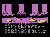Colossal Adventure MSX dried up riverbed