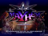WCW Mayhem Nintendo 64 The Intro Screen