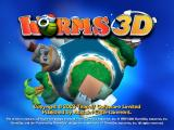 Worms 3D Windows Title Screen