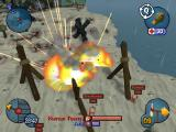 Worms 3D Windows Cluster Bomb attack