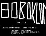Bobo Kloc Amiga Game info screen