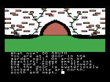 The Worm in Paradise MSX Hmm an exit? But locked.