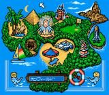 Super Solitaire SNES The island.
