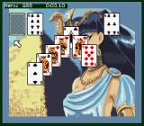 Super Solitaire SNES Cleopatra? I won't show her beautiful face.