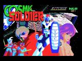Cosmic Soldier MSX Title screen
