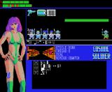 Cosmic Soldier MSX Game screen