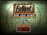 Fallout: The Old York Windows Title screen with main menu