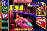 F-Zero: Climax Game Boy Advance Machine select.