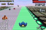 F-Zero: GP Legend Game Boy Advance Blue Falcon in action.