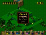 Lemmings Paintball Windows Skill - Taxing, Level 15 - Its a-maze-ing