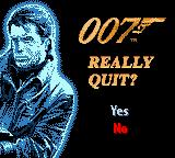 007: The World is Not Enough Game Boy Color Really quit? Not yet.