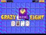 Crazy Eight Windows Only the latest high score is recorded, the player's name is not