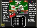 Deluxe Suite: Card & Board Games 2 Windows The title screen of 'Max Black Jack'<br>This explains the rules and shows what the game area looks like