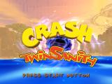 Crash Twinsanity PlayStation 2 Title Screen