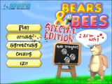 Bees & Bears Windows The main menu