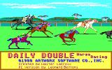 Daily Double Horse Racing DOS Title Screen