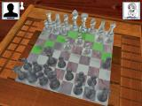 3D Chess Windows Playing a game. The game shows the available moves for each selected piece