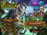 Grim Legends 2: Song of the Dark Swan (Collector's Edition) Windows Apps Title and main menu