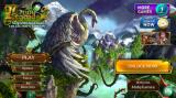 Grim Legends 2: Song of the Dark Swan (Collector's Edition) Android Title and main menu