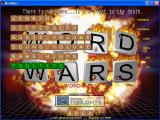 WordWars Windows The game configuration options