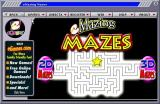 eMazing Mazes Windows The eGames game browser allows the player to select between the 2D & 3D mazes