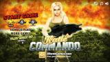 Katie Commando Browser Title screen / main menu