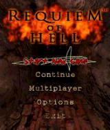 Requiem of Hell N-Gage It tries to mimic Diablo even in from the menu with those flaming letters.