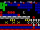 Boulder Dash ZX Spectrum Crush the yellow things with a boulder, and they turn into diamonds!