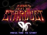 Super Stardust DOS Title screen